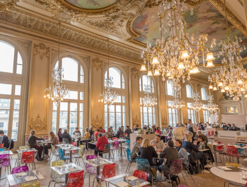 restaurant musee d'orsay
