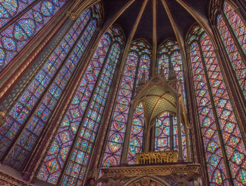sainte chapelle bezienswaardigheden Parijs