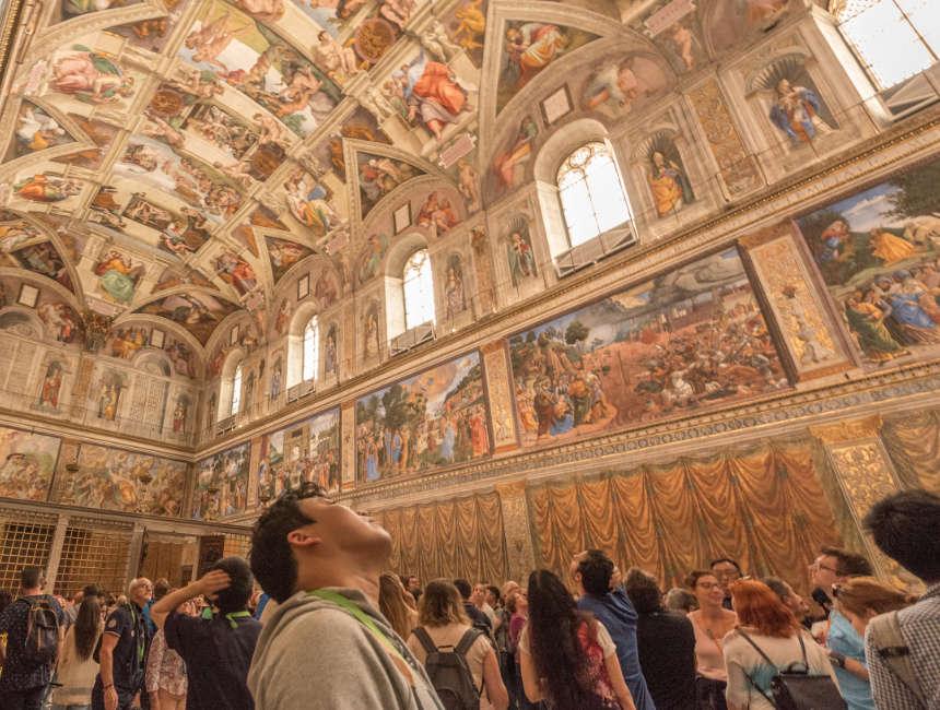 sixtijnse kapel vaticaanstad bezoeken