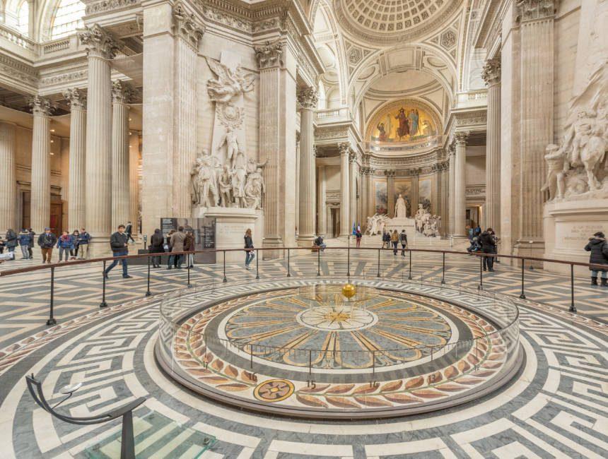 slinger van Foucault pantheon