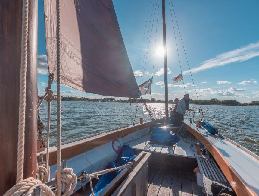 zeesenboot romantik zeilboot