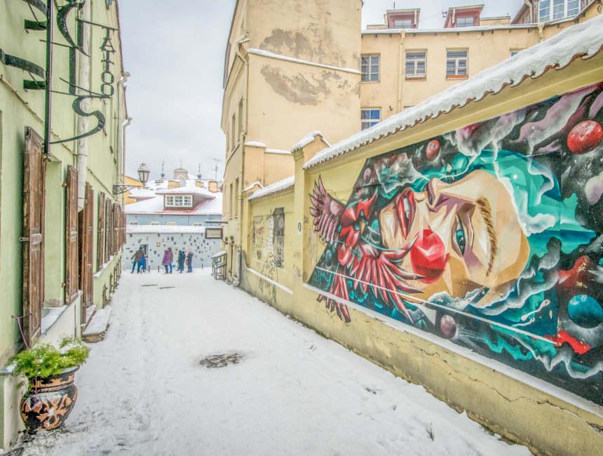 literatu straat vilnius