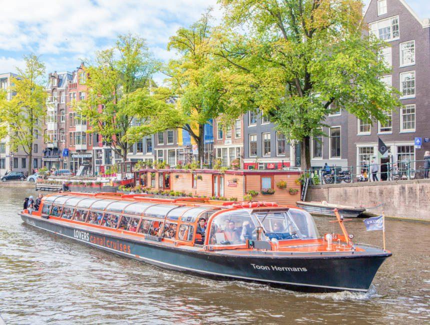 boottocht Amsterdamse grachten