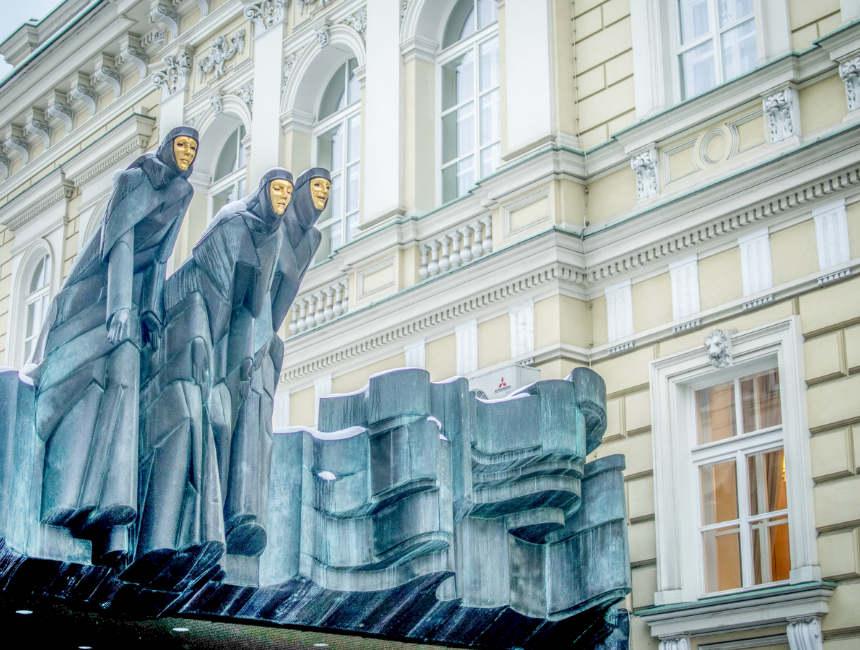 Gediminas avenue bezienswaardigheden litouwen