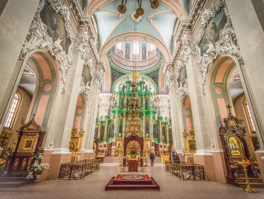 orthodoxe kerk van de heilige geest vilnius