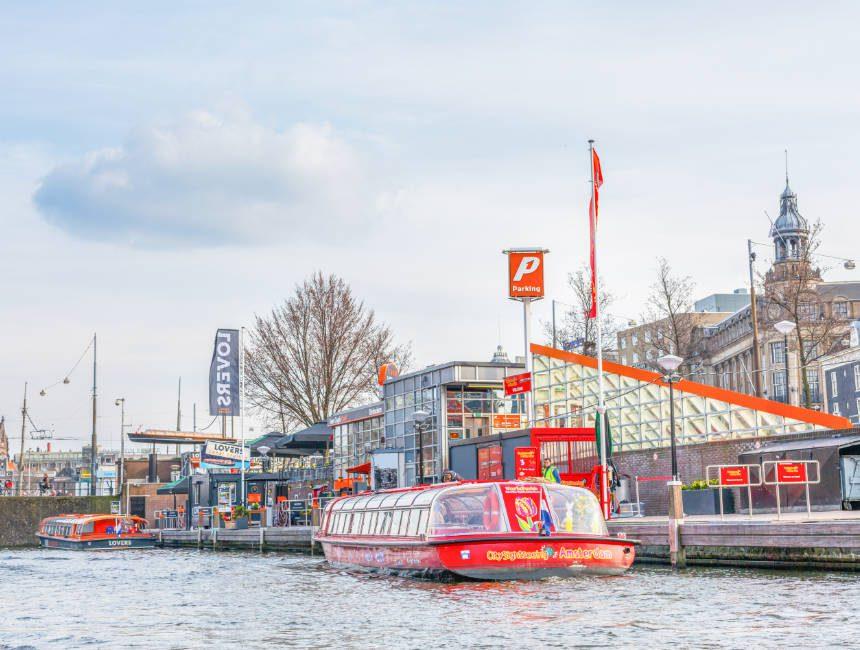 rondvaart amsterdam hop-on hop-off