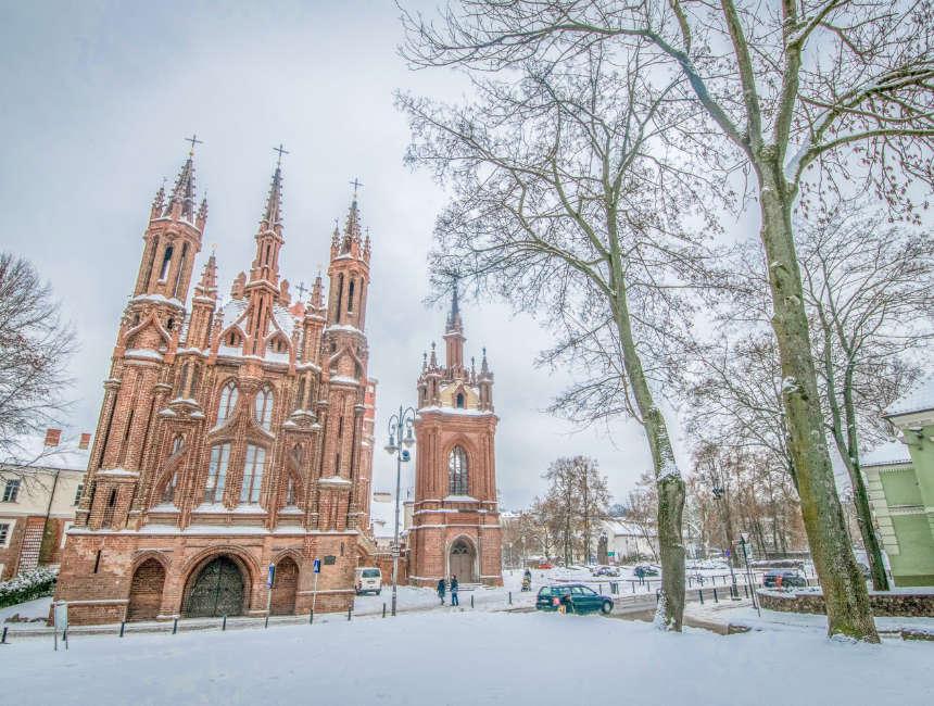 Sint-Annakerk Litouwen bezienswaardigheden