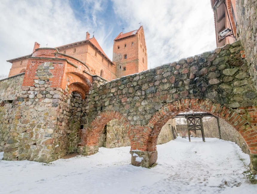 trakai kasteel daguitstap Vilnius