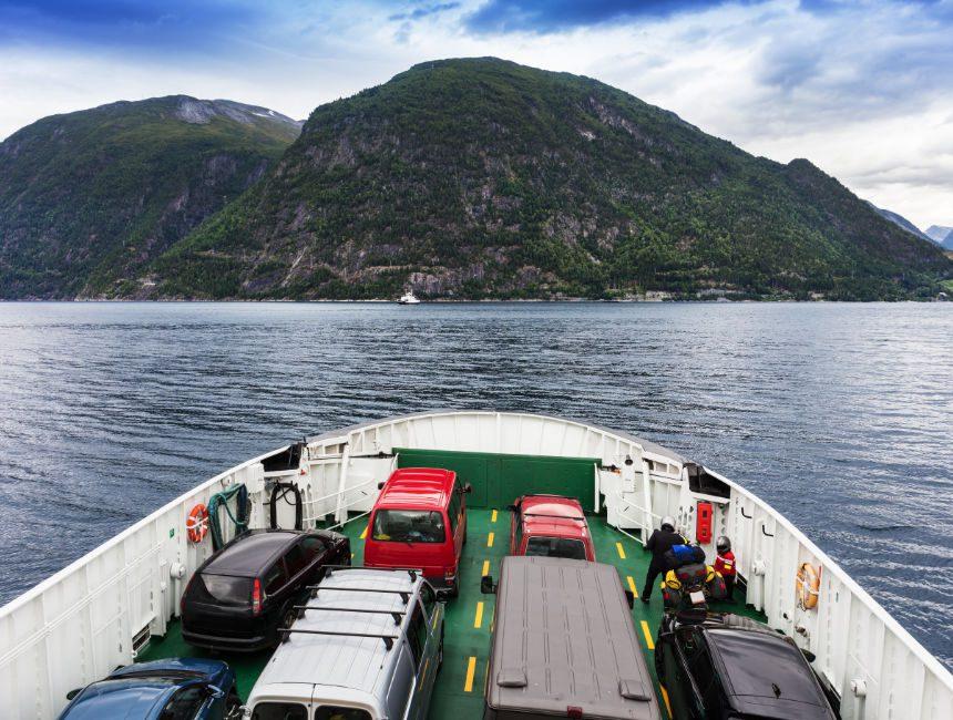 auto huren noorwegen ferry