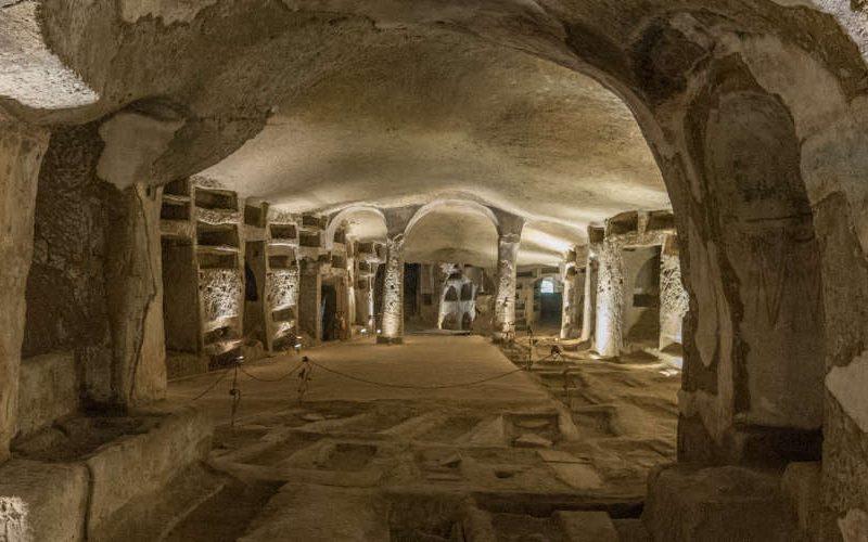 catacomben napels