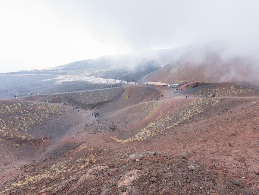 etna bezoeken krater