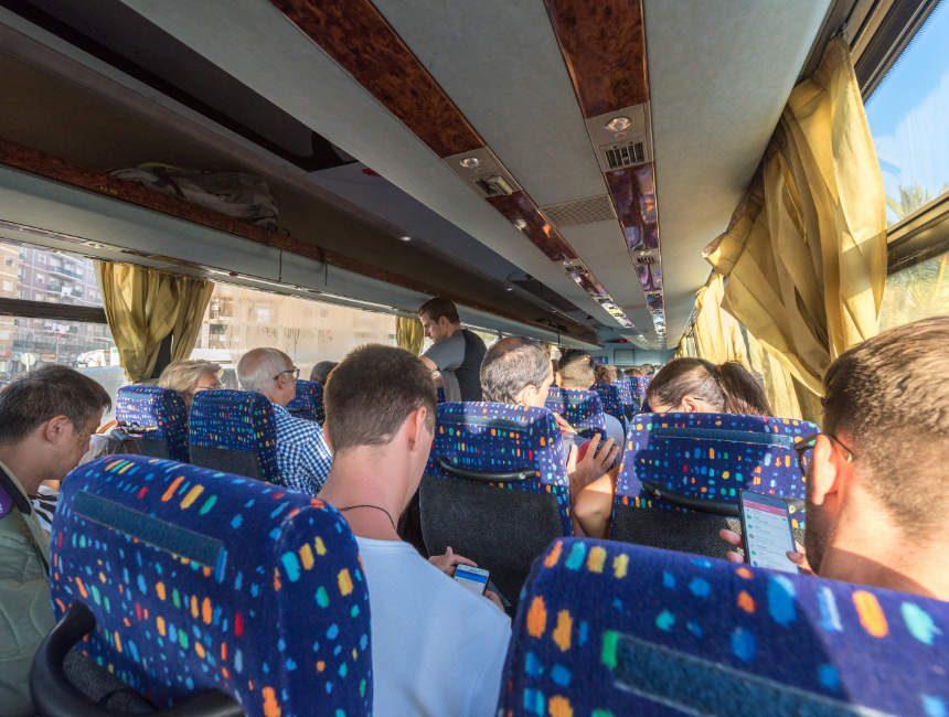 etna bezoeken openbaar vervoer bus catania