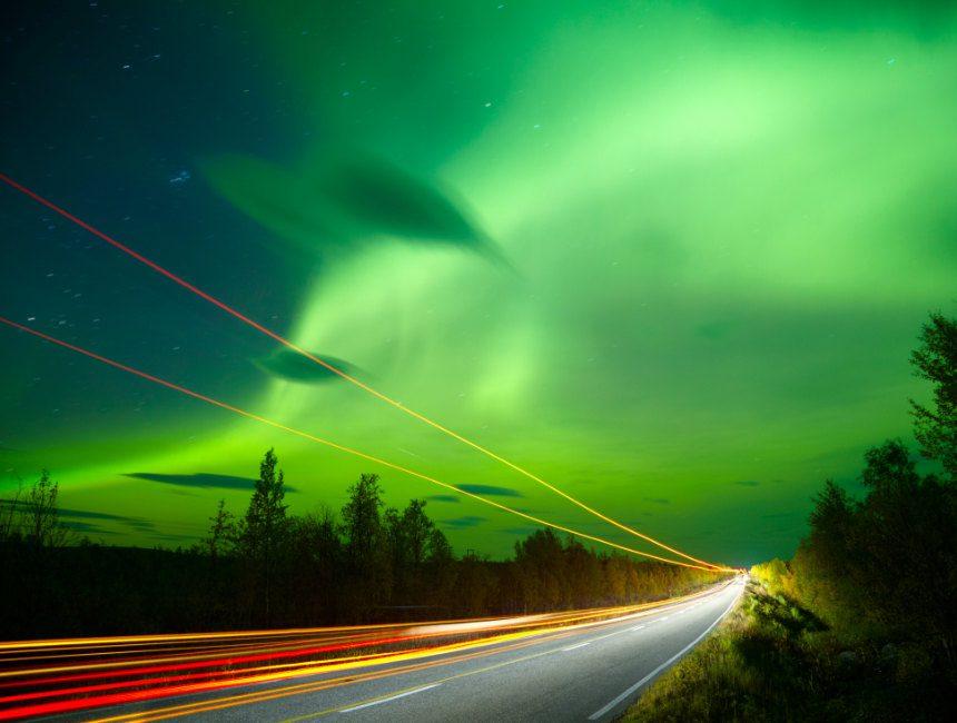noorderlicht autohuur noorwegen