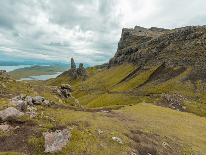 old man of storr bezienswaardigheden in schotland