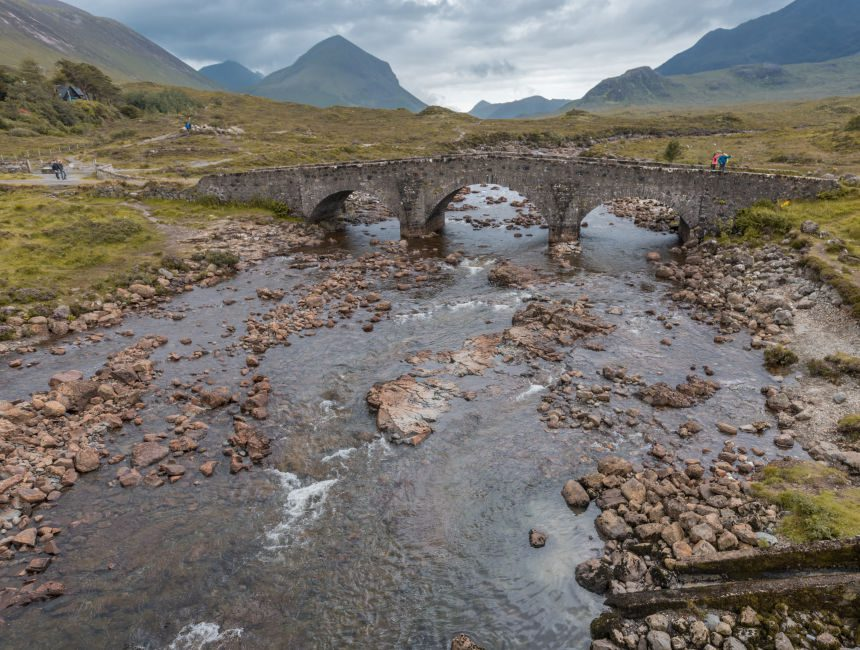 sligachan old bridge schotland bezienswaardigheden