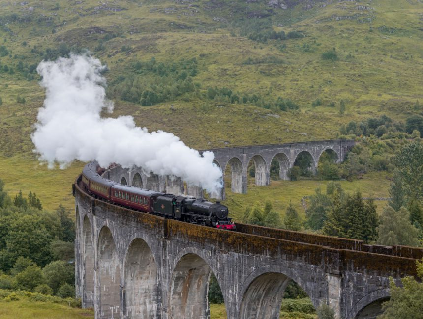 stoomtrein harry potter schotland