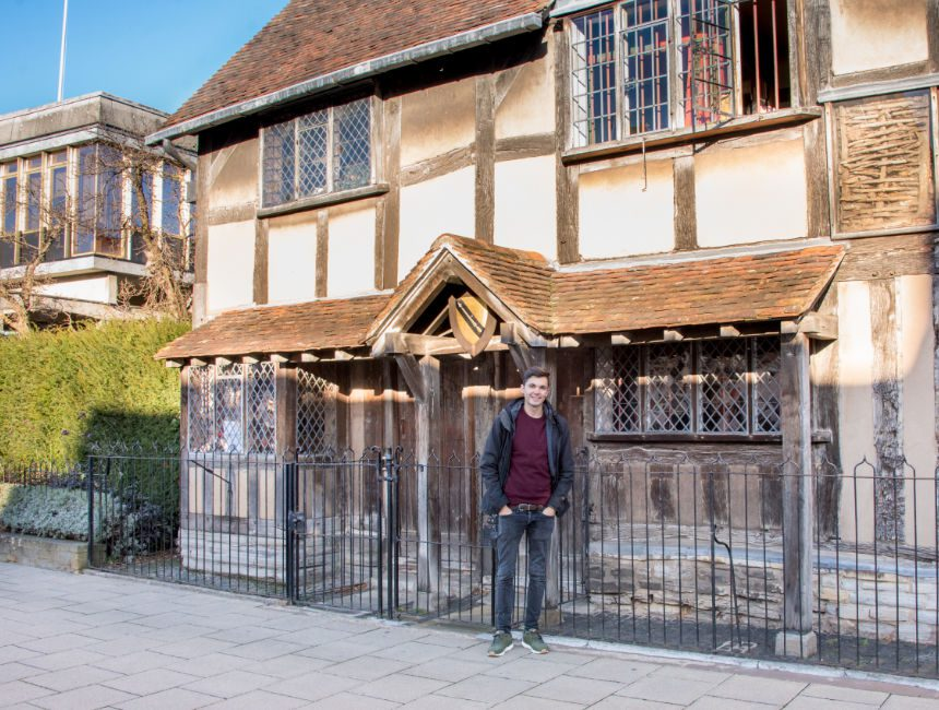 checkoutsam geboorteplaats shakespeare stratford upon avon