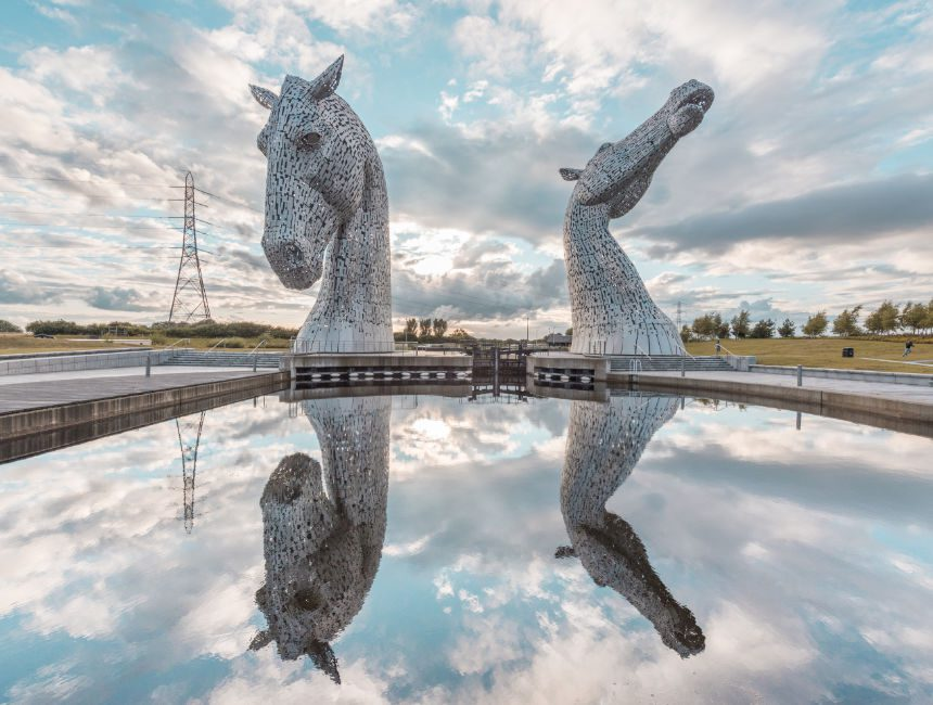 the kelpies Schotland
