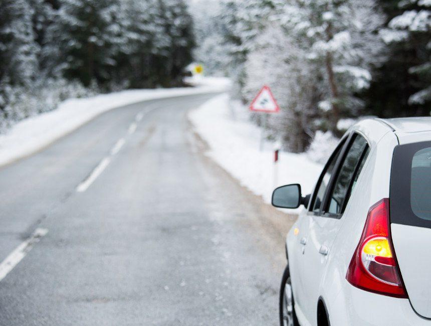 winterbanden noorwegen auto huren