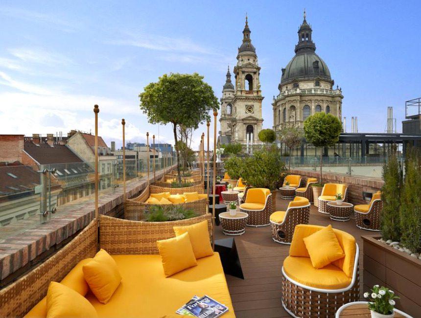 Boedapest parlement Aria Hotel