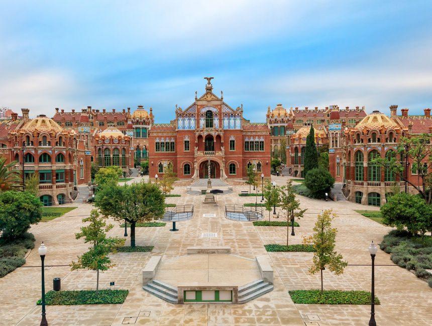 Hospital de la Santa Creu i Sant Pau bezienswaardigheden barcelona