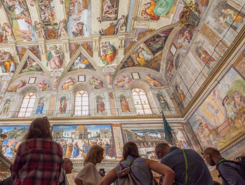 bezoek sixtijnse kapel