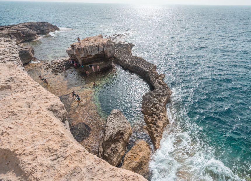 blue hole dwejra bay malta