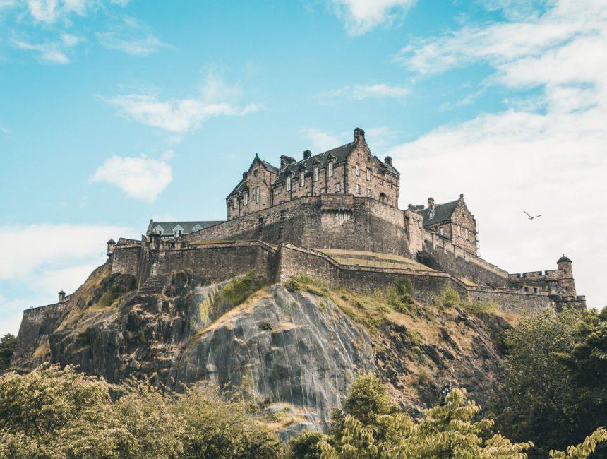 Edinburgh Castle bezoeken