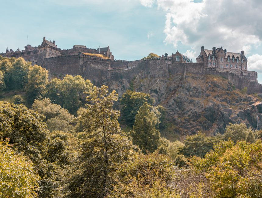 edinburgh castle rondreis schotland