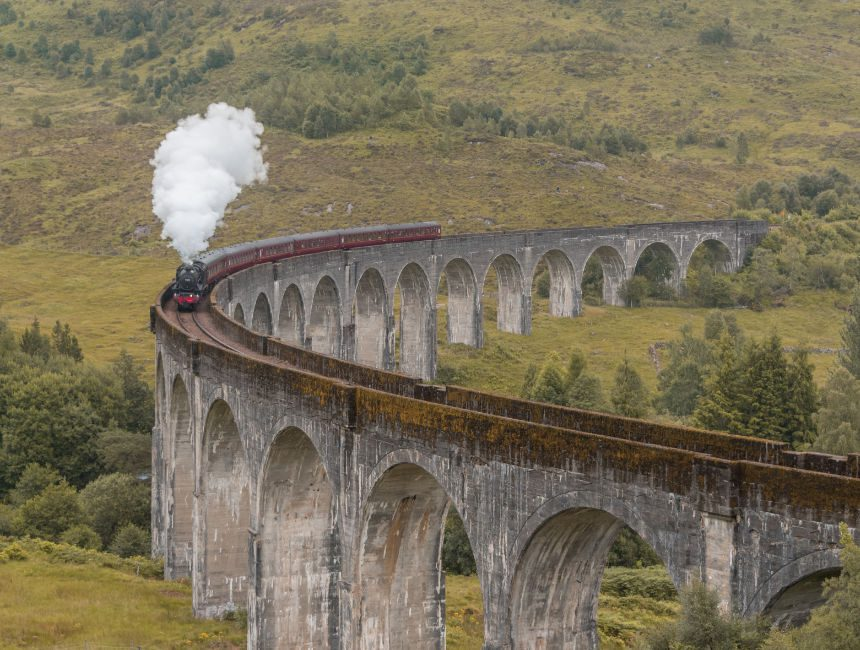 harry potter stoomtrein schotland rondreis