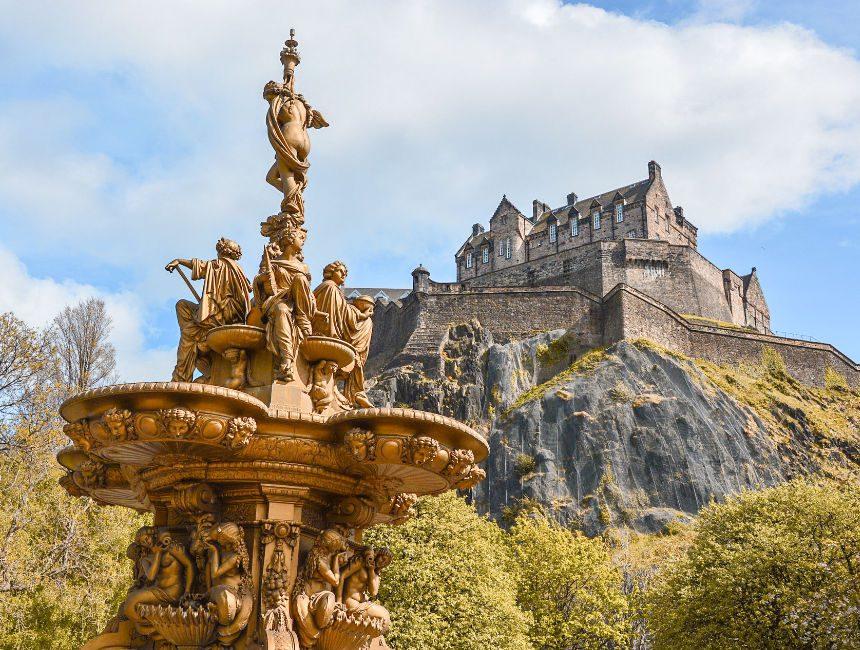kasteel edinburgh bezoeken