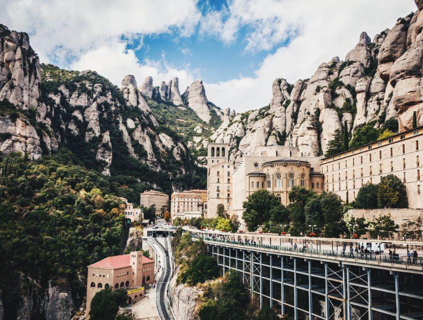 klooster van montserrat auto huren barcelona