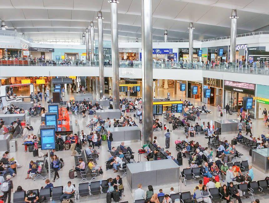 londen heathrow luchthaven