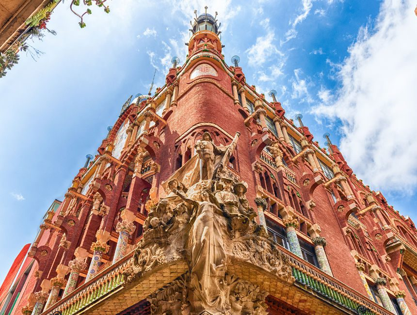 palau de la musica barcelona art nouveau