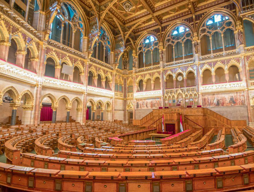 parlement boedapest binnenin