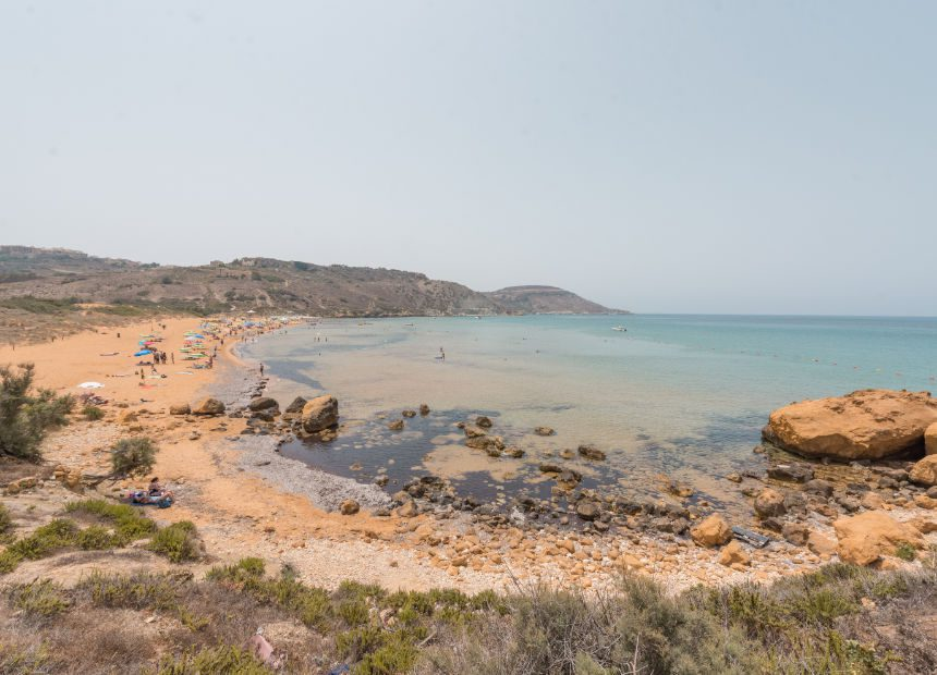 Ramla Bay gozo mooiste stranden malta