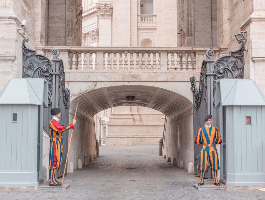 zwitserse garde vaticaan bezoeken
