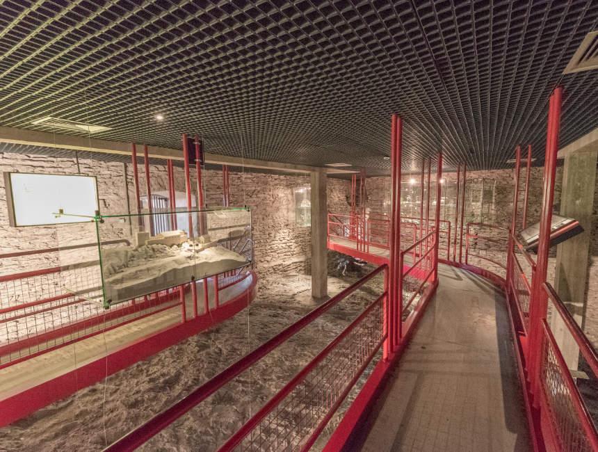 archeologische crypte kasteel vianden