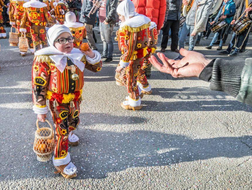 carnaval van binche Ardennen