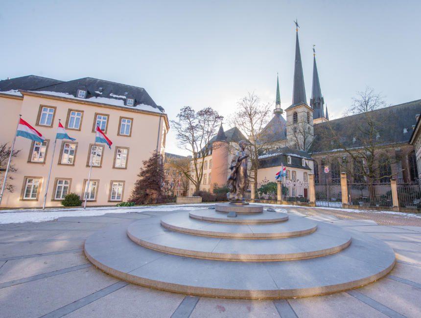 kathedraal van Luxemburg