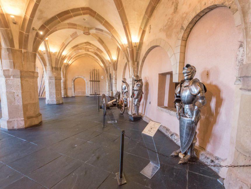 wapenhal kasteel vianden