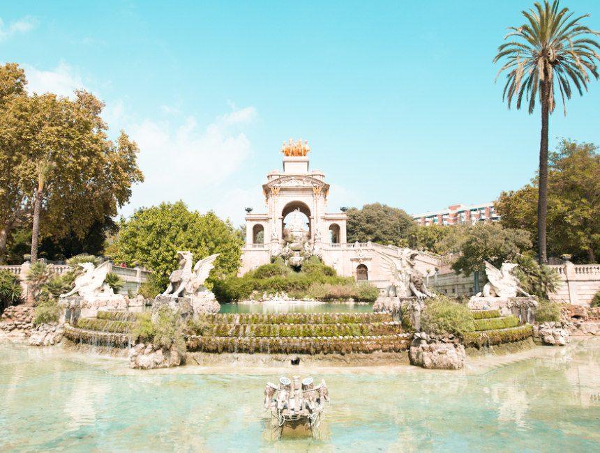 cascada fontein ciutadella park barcelona
