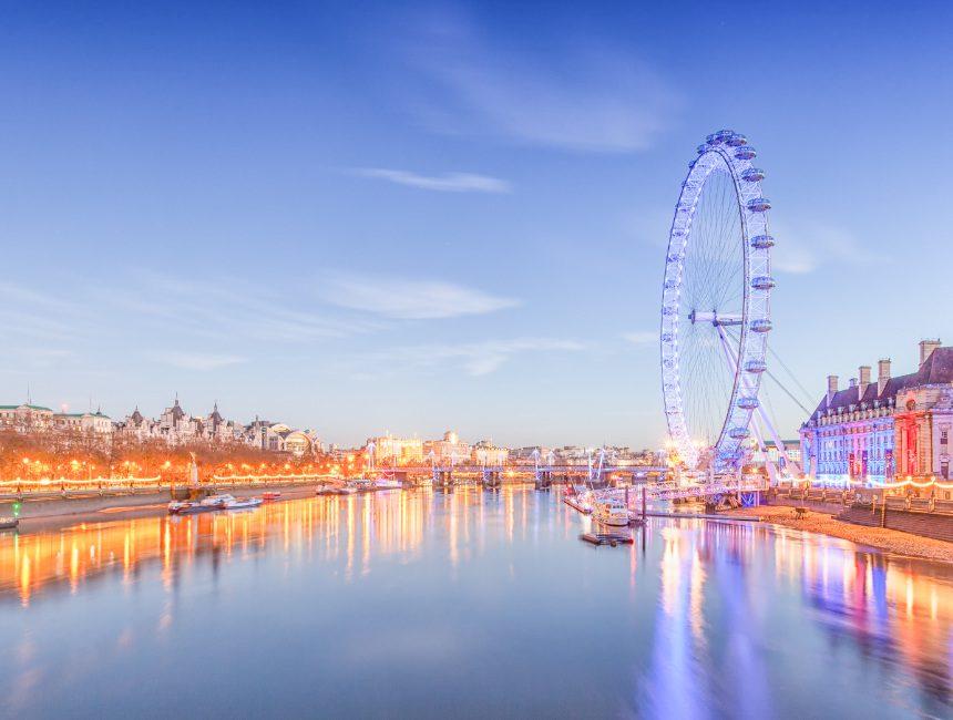 London Eye reuzenrad Londen