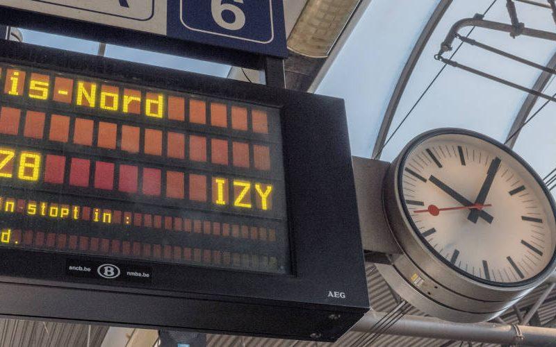 Parijs trein