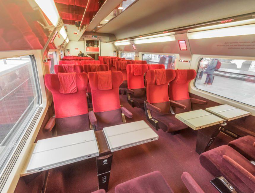 thalys trein brussel parijs