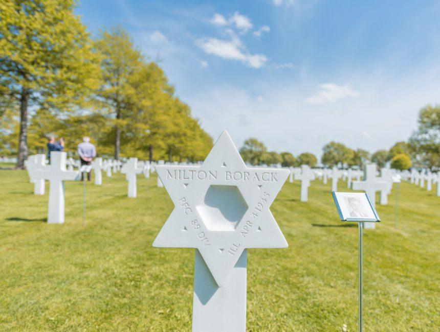 Amerikaanse begraafplaats margraten