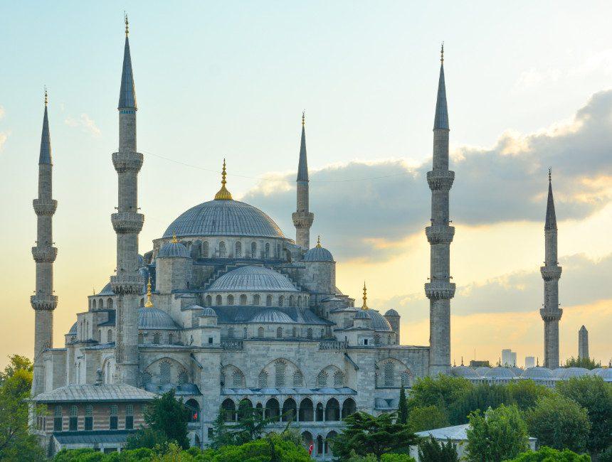blauwe moskee Turkije visum