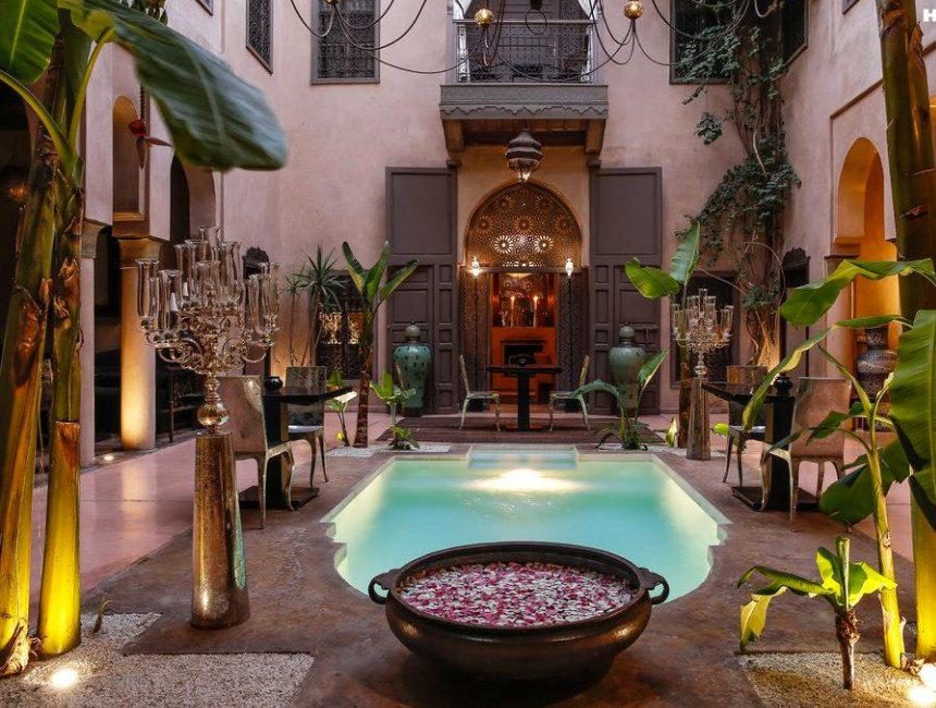mooiste riads Marrakech noir d'ivoire