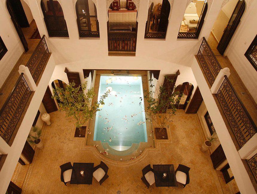mooiste riads Marrakech riad Assakina
