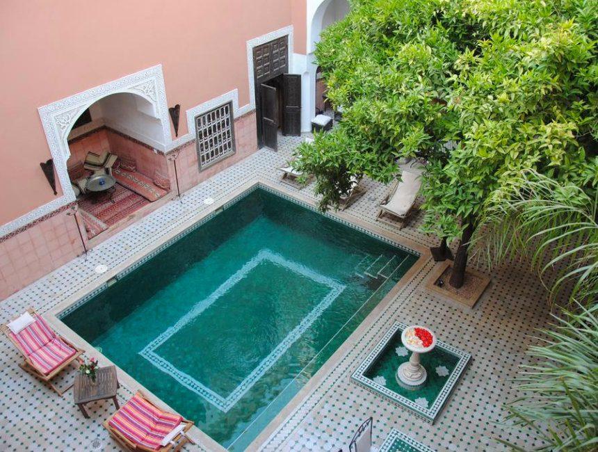 mooiste riads Marrakech riad Barroko